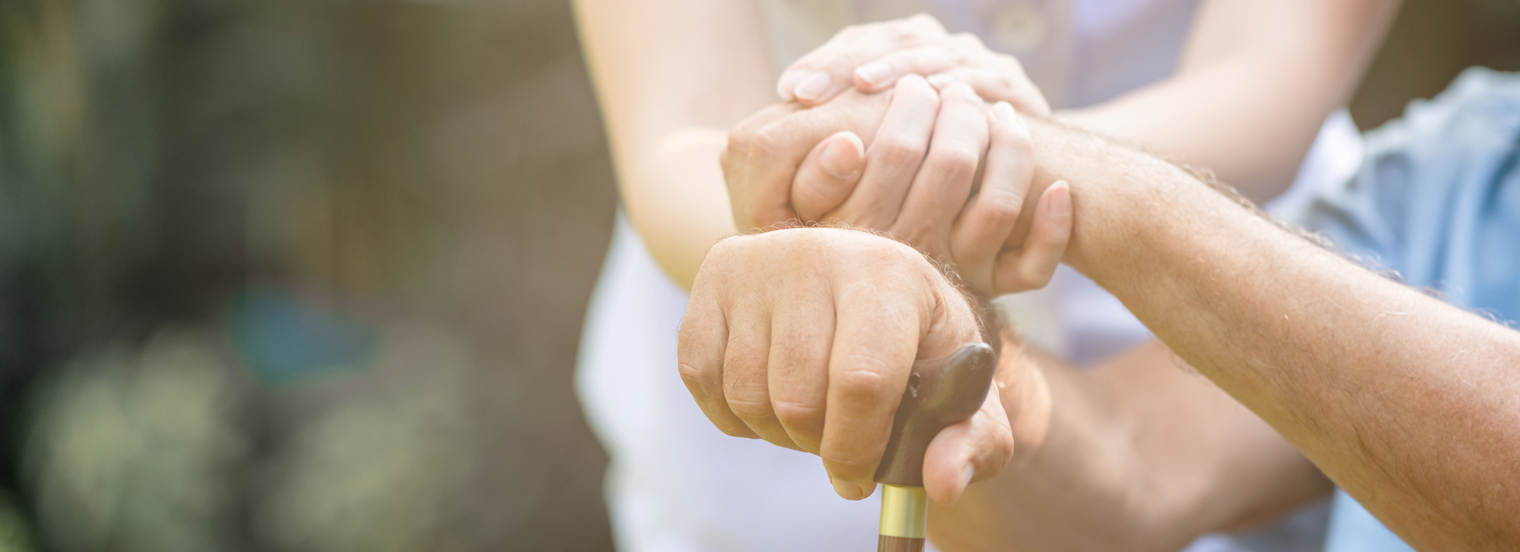 Image of hands clasped together in partnership