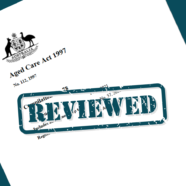 A new Act to follow as aged care reforms